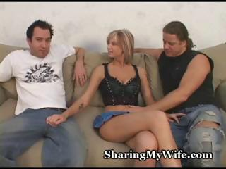 Hubby Shares Wife With Friend