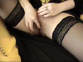 Pierced dominant-bitch in a sexy corset