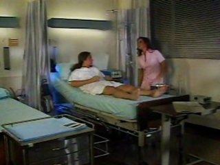 Nici Sterling as a hot nurse