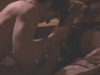 Breathtaking Ebon Sweetheart Lisa Bonet Gets Bound Up To a Bed and Drilled