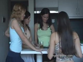 Argen-teens.com disrobe spin the bottle