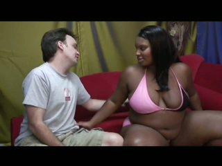 Preggy Ebony Has Surprisingly Tight Slit