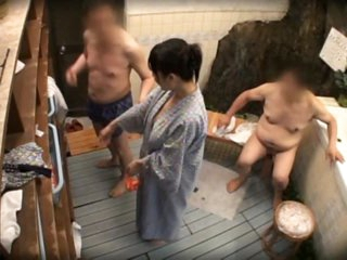 Kinky Oriental Getting Fucked By Several Dongs