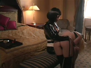 Dominatrix Abuses Her Subordinates