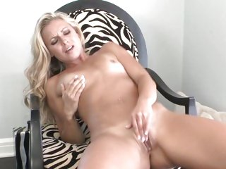 Amazing Lena Nicole finger fucks her wet snatch