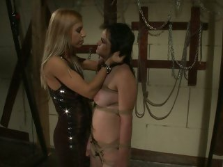 A indecent dungeon with hot dominatrix Nikky Thorne