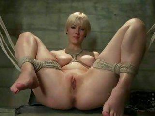 Kinky Cherry Torn fucks this slut with a face dildo