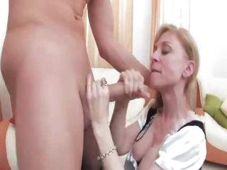 French maid Nina Hartley fucked hard