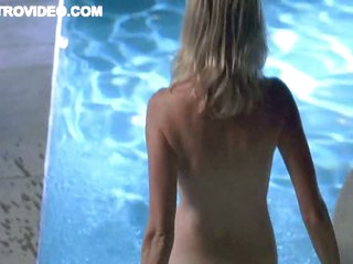 While Baelyn Neff Wishes To Fuck Rosanna Arquette Takes a Dip In The Pool