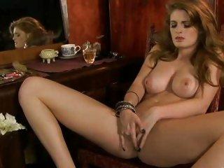 Faye Reagan enjoys fingering her tight soaked pussy hole