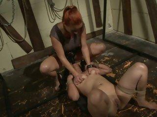 Katy Borman shows her personal slut who's boss