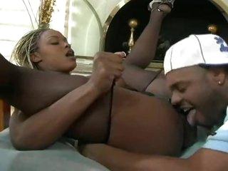 Incredible big bra buddies on black cock whore