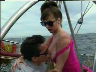 KRISTA FUCKS ON BOAT HARD BUTTS - JP SPL