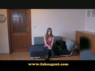 FakeAgent First time undress and bold pussy