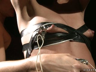 Femdom Katy Borman puts this slut in some kinky pain