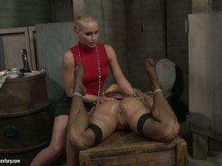Kathia Nobili dildoing the a-hole of a lusty babe