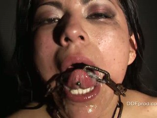 Yoha is nasty, and she loves it rough...watch her acquire gangbanged and covered in jizz