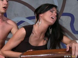 Sea J Raw receives a good hard fucking from a real mean hard cock.
