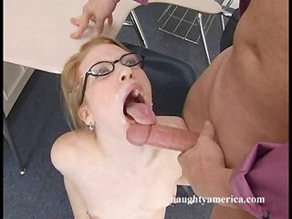 Sexy Madison Juvenile has hot sticky cum shot in her pleasant mouth