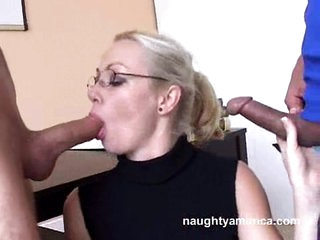 Adrianna Nicole takes to cocks down her throat one at a time