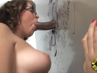 Sexually excited Alice Bell drools on this tasty skin flute