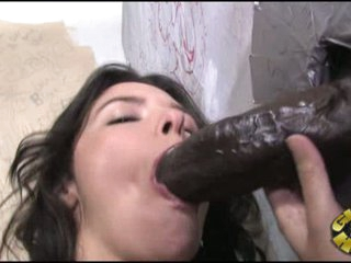 Danica Dillan take darksome cock from hole into her throat