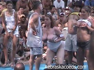 Amateur Contest at Nudist Resort