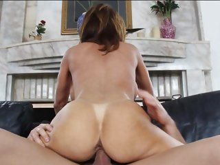 Alluring Deauxma gets slammed up her wet pantie pot