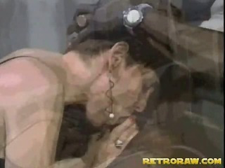 Interracial blow job