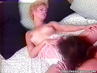 Tender pussy lick from lesbian girl