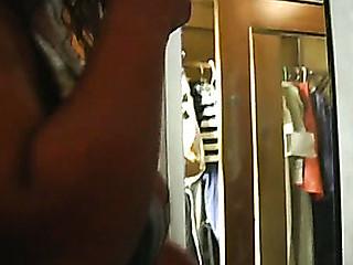 Manhandled woman's boobs