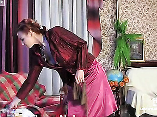 Susanna&Marion frisky nylon movie