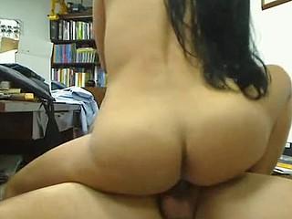 Latina MILF with huge boobs hardcore