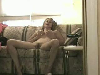 Housewife takes a break