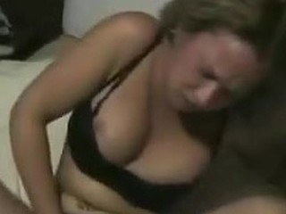 Hot blonde rubs herself hard