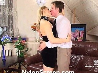 Susanna&Morris nasty nylon movie scene