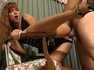 Diana&Lesley frisky nylon movie