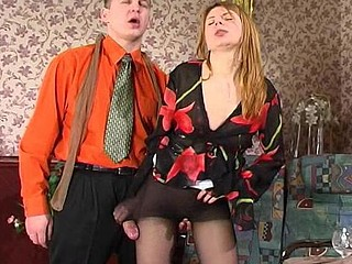 Alice&Peter nasty hose job movie