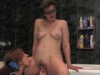 Leonora&Jaclyn lesbo aged movie