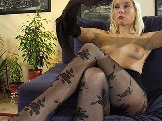 Virginia in awesome hose movie scene