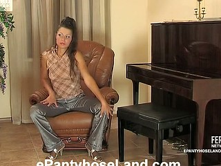 Tina videotaped during the time that wearing hose