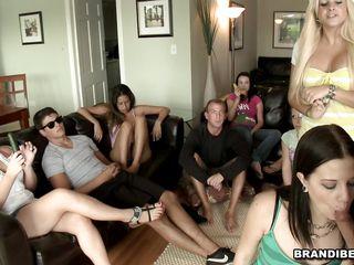 horny milfs training in sucking cock