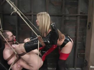 blonde milf fucking a helpless guy
