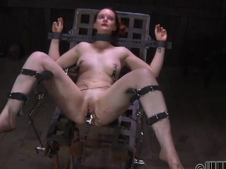 Check out that torture play with stunning badly behaved slave girl in chains