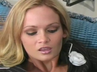 Kinky action of trying on large dong turns this nympho on