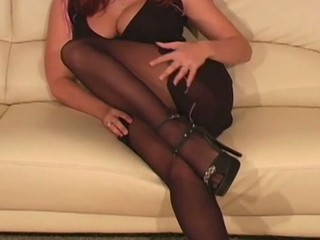 Frisky chick exposes butt upskirt and awesome snatch lips