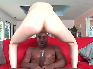 Laila Mason receiving big black cock in her twat