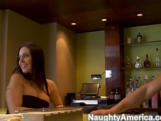 Gracie Glam & Tori Black & Danny Mountain in Naughty Rich Girls
