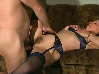 German Babe Fucks Mature man