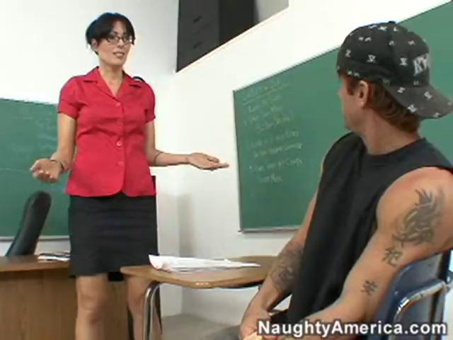 Horny Mature Teacher Pounded After Class